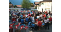 Wilderswil Village festival.