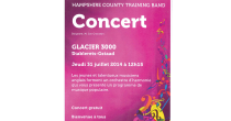 Concert Hampshire County Training Band - Glacier 3000
