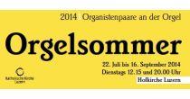 Orgelsommer 2014