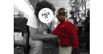 face it – Eine interaktive Wanderausstellung von MSF