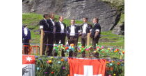 Benefit concert in the village church from Grindelwald