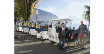 Balade touristique sur les quais de Montreux