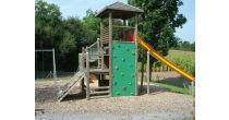 Spielplatz neben Überbauung Brunnmatt