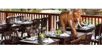 Thaiabend im Elefantenpark Kaeng Krachan