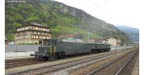 Führerstandsfahrten am Gotthard