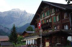 Alpenrose-Saxeten, Hotel Restaurant