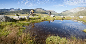 Mountainbike-touring-arrangement