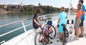 Active break on the shores of Lake Murten