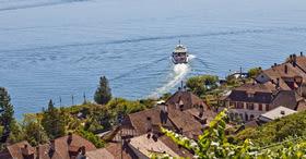 Switzerland's longest navigable waterway.