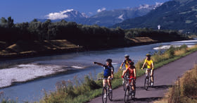 Itinerario del Reno Disentis - Sciaffusa