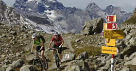 Alpine Bike : Scuol– Tiefencastel