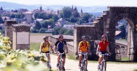 Excursión en bicicleta al pasado