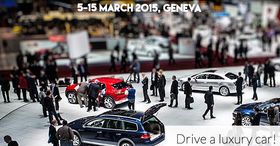 Geneva International Motor Show offer