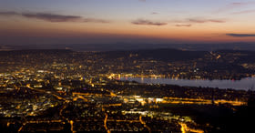 Romance with views across Zurich