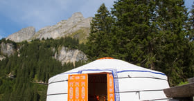 Summer package 1 night in a yurt
