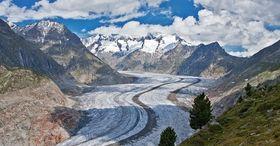 Wandern im UNESCO-Welterbe Jungfrau-Aletsch