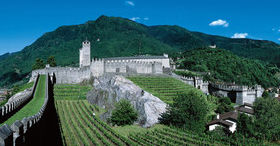 Bellinzone, patrimoine mondial de l'UNESCO