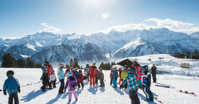 Snow Sports Try-Out for Families in Braunwald