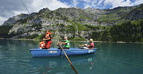Fresh air - Unesco World Heritage - Lake Oeschinen