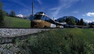Golden Pass Panoramic Express, Saanenland, Bernese Oberland