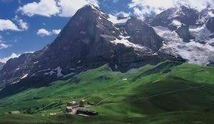 Kleine Scheidegg and the Eiger, Bernese Oberland