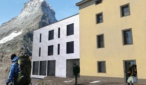 Matterhorn, Hoernlihuette