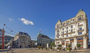 Zentralplatz Biel/Bienne